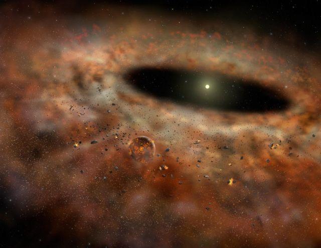 Υπό εκκόλαψη πλανητικό σύστημα σαν το δικό μας   tovima.gr