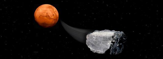 Αρειανοί μετεωρίτες υποδεικνύουν ζωή στον πλανήτη | tovima.gr