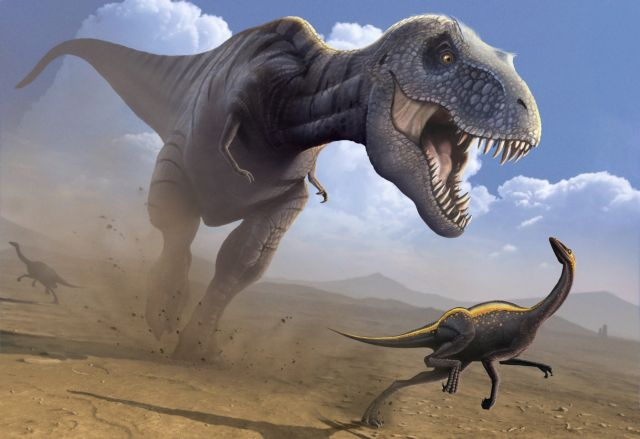 O Τυραννόσαυρος Ρεξ είχε δόντια-«μαχαίρια»   tovima.gr