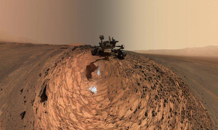 Το καινούργιο «selfie» του Curiosity | tovima.gr