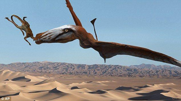 Ιπτάμενο τέρας τρομοκρατούσε την έρημο της Γιούτα | tovima.gr