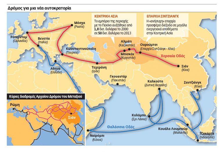 Η Κίνα ανοίγει ξανά τον Δρόμο του Μεταξιού   tovima.gr