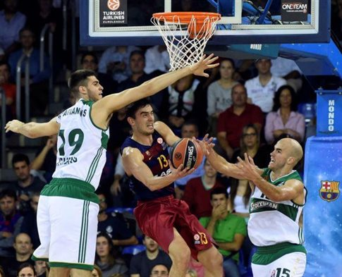Βαριά ήττα του Παναθηναϊκού από την Μπαρτσελόνα με 77-52 | tovima.gr