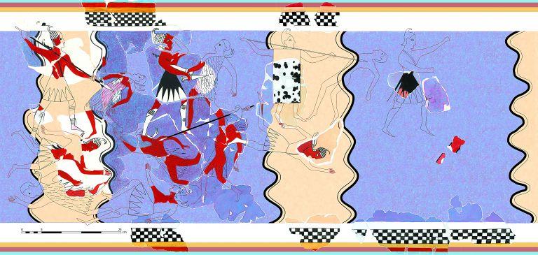 Πύλος: νέες αποκαλύψεις για τη μυκηναϊκή ζωγραφική | tovima.gr
