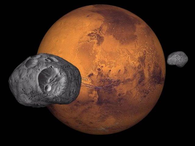 Οι δορυφόροι του Αρη φτιάχτηκαν όπως η Σελήνη | tovima.gr