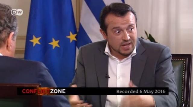Ο εκνευρισμός του Ν.Παππά σε συνέντευξη στην DW | tovima.gr