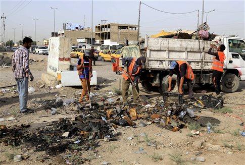 Άλλη μία ημέρα αιματοκυλίσματος στο Ιράκ-16 νεκροί σε επιθέσεις   tovima.gr
