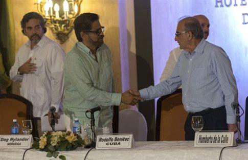 Συμφωνία FARC-Κολομβίας για απόσυρση ανήλικων μαχητών | tovima.gr