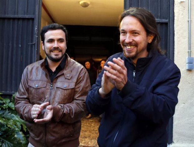 Ισπανία-δημοσκόπηση: Δεύτερη η συμμαχία Podemos-Ενωμένη Αριστερά   tovima.gr