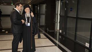 Συνάντηση Τσίπρα με τον Οικουμενικό Πατριάρχη | tovima.gr