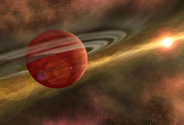 Γιγάντιος πλανήτης «αγκαλιάζει» άστρο βρέφος | tovima.gr