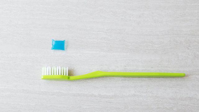 «Πράσινη» οδοντόκρεμα σε ατομικές μερίδες | tovima.gr