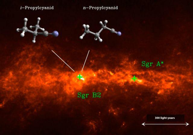 Μόριο με ιδιότητες ζωής εντοπίστηκε στα βάθη του Γαλαξία | tovima.gr