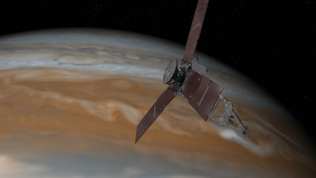Σε τροχιά γύρω από τον Δία το Juno τα χαράματα της Τρίτης | tovima.gr