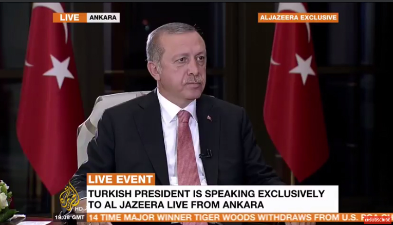 Ερντογάν στο Al Jazeera: Μπορεί να υπήρξε ξένος δάκτυλος στο πραξικόπημα | tovima.gr