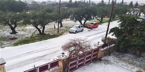 Χαλαζόπτωση σε Ζάκυνθο και Ηλεία – Νέο κύμα κακοκαιρίας | tovima.gr