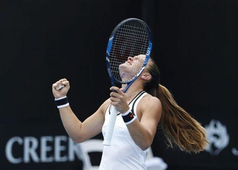 Μεγάλη νίκη της Σάκκαρη, προκρίθηκε στον 2ο γύρο του Australian Open   tovima.gr