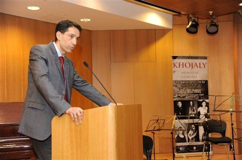 Η πρεσβεία του Αζερμπαϊτζάν τίμησε την 25η επέτειο της σφαγής του Χοτζαλί | tovima.gr