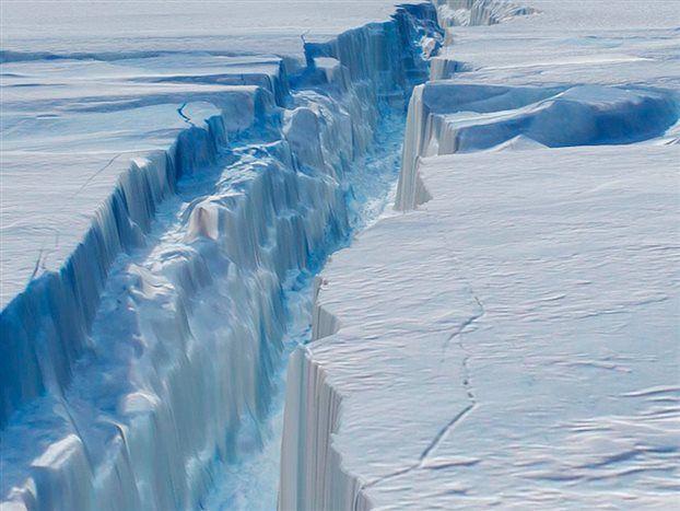 Παγόβουνο στο μέγεθος της Κρήτης «γεννήθηκε» στην Ανταρκτική | tovima.gr
