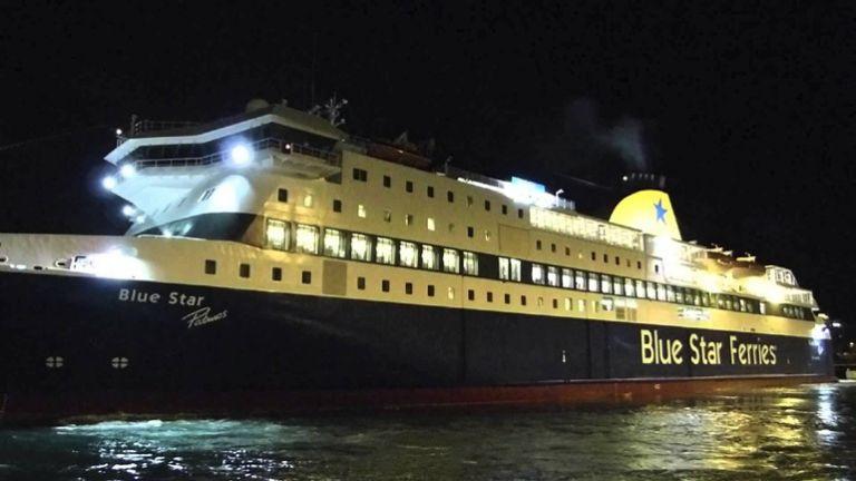 Νεκρός ανασύρθηκε ο επιβάτης του Blue Star Naxos που έπεσε στη θάλασσα | tovima.gr