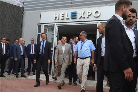 Το περίπτερο του υπουργείου Αγροτικής Ανάπτυξης και Τροφίμων εγκαινίασε ο πρωθυπουργός στη ΔΕΘ | tovima.gr