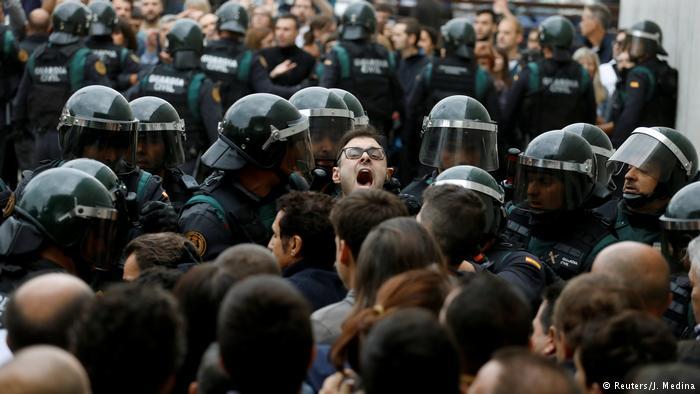 Καταλωνία: Δημοψήφισμα στη σκιά της βίας   tovima.gr