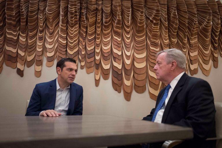 Τσίπρας: Σημαντική η στήριξη των ΗΠΑ – Συνάντηση με τον γερουσιαστή Ντέρμπιν | tovima.gr