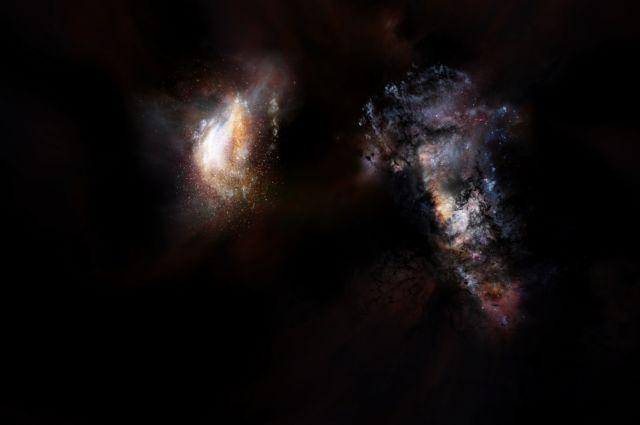 Πανάρχαιοι γαλαξίες-γολιάθ πονοκεφαλιάζουν τους επιστήμονες | tovima.gr