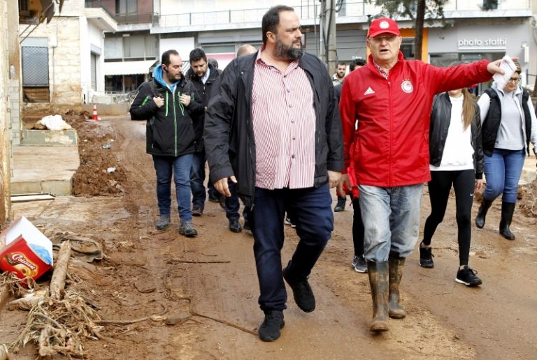 Mandra mayor to Marinakis: 'You were the first to stand by us' | tovima.gr