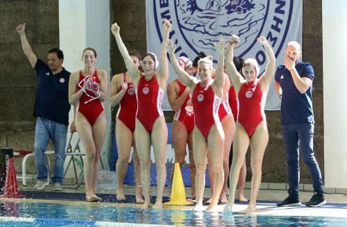Μόνο περηφάνια για τα «χρυσά» κορίτσια του Ολυμπιακού | tovima.gr