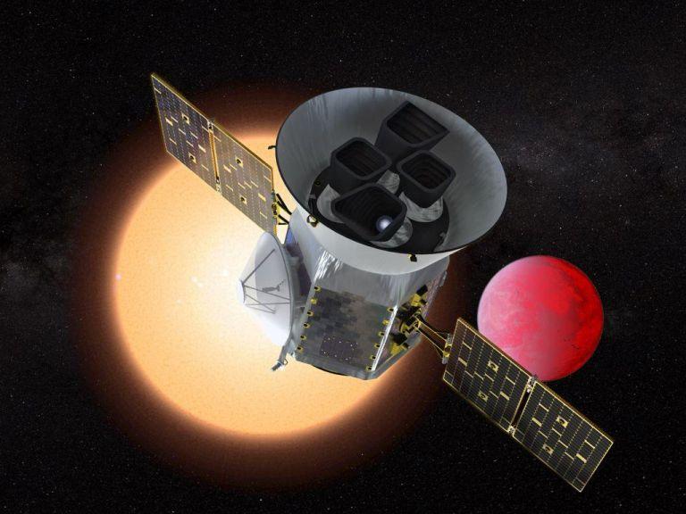 Εκτοξεύεται το νέο διαστημικό τηλεσκόπιο TESS   tovima.gr