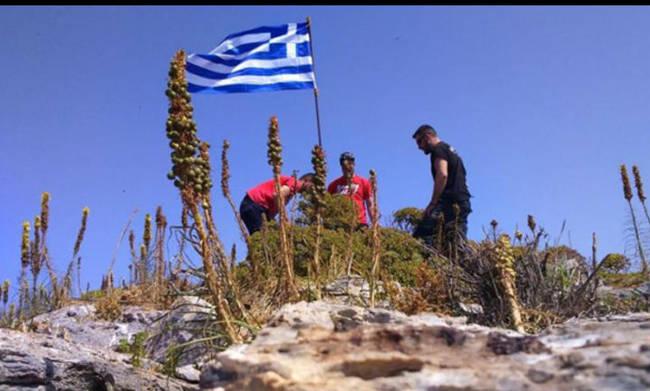 Απάντησε στον Καμμένο ο νεαρός για τη σημαία στην βραχονησίδα | tovima.gr