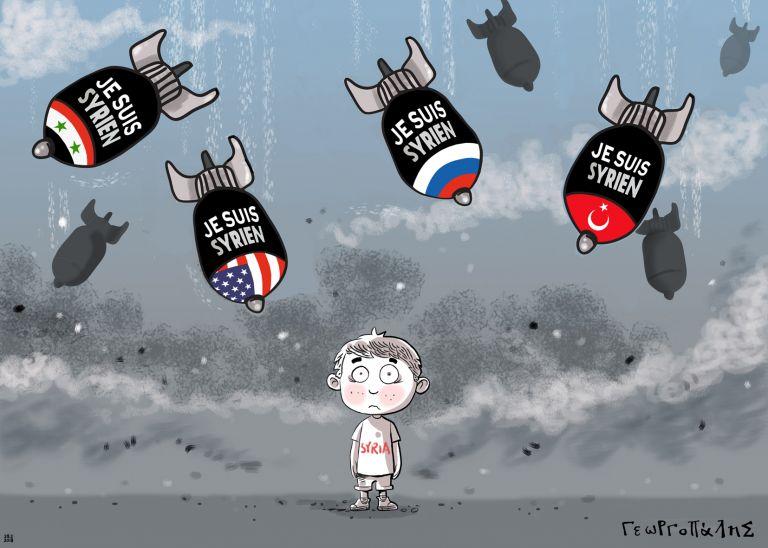 Έκθεση Γελοιογραφίας στο Μετρό Συντάγματος με τίτλο Πόλεμος Α.Ε. – War S.A | tovima.gr