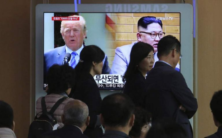 Συνεχίζουν οι προσπάθειες από ΗΠΑ – Ν.Κορέα για συνάντηση Τραμπ – Κιμ | tovima.gr
