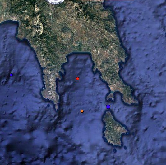 Σεισμική δόνηση 4,6 βαθμών στον Λακωνικό Κόλπο   tovima.gr