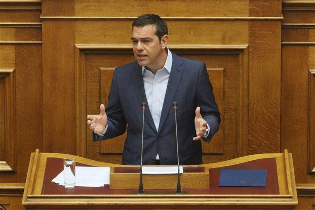 Τσίπρας: Ο κ. Μητσοτάκης επέλεξε να μετατραπεί σε φερέφωνο του κ. Σαμαρά | tovima.gr