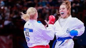 H Χατζηλιάδου πήρε το ασημένιο μετάλλιο στο καράτε | tovima.gr