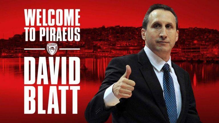 Προπονητής του Ολυμπιακού ο Ντέιβιντ Μπλατ | tovima.gr