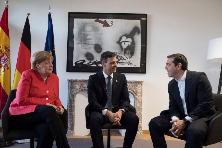 Το μήνυμα Τσίπρα για τη συνάντηση με Σάντσεθ και Μέρκελ | tovima.gr