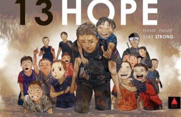 Συγκινητικά σκίτσα για τα εγκλωβισμένα παιδιά της Ταϊλάνδης   tovima.gr