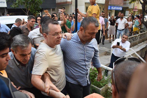 Τουρκία: Νέο δικαστικό «όχι» για αποφυλάκιση του Μπράνσον | tovima.gr