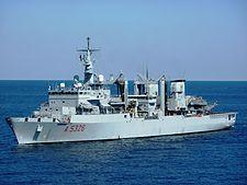 Στη Λεμεσό το μεγαλύτερο πλοίο του Πολεμικού Ναυτικού | tovima.gr