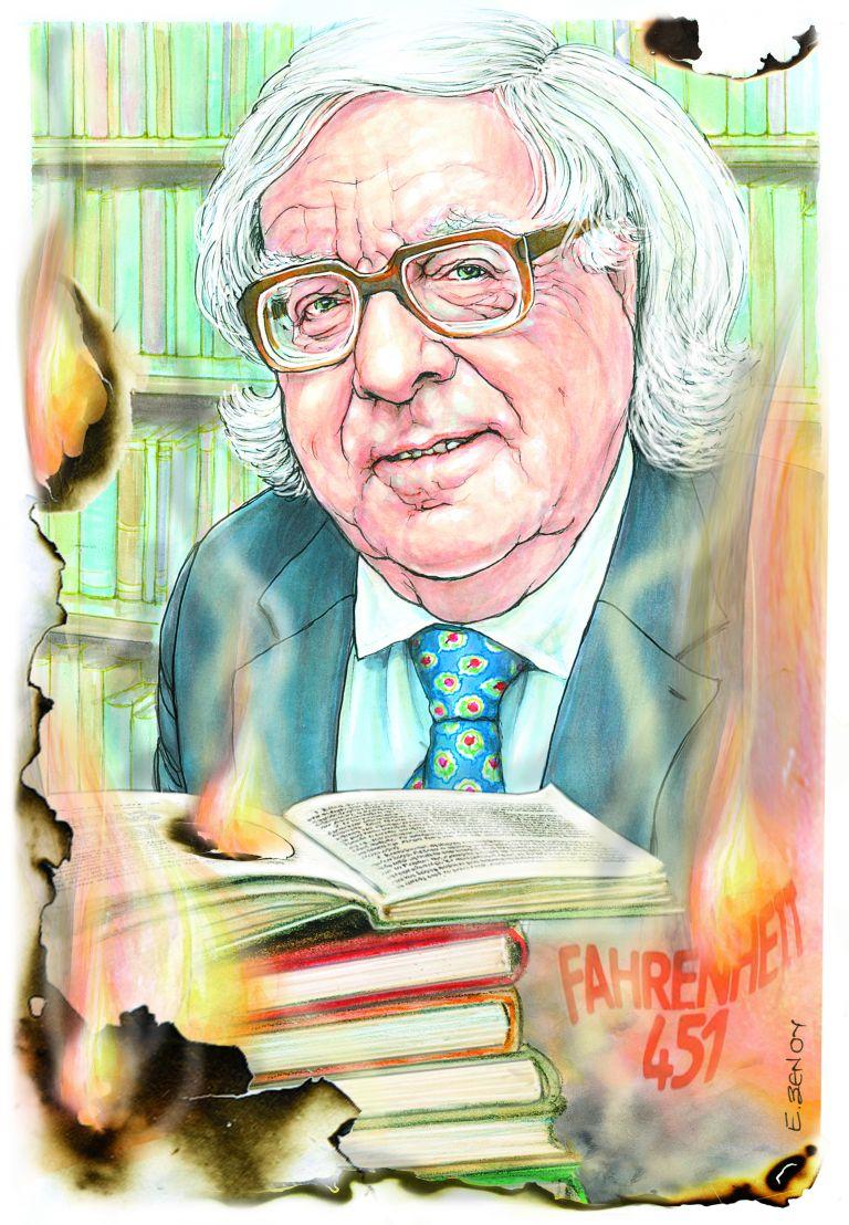 Ρέι Μπράντμπερι : Κάψτε τα βιβλία! | tovima.gr