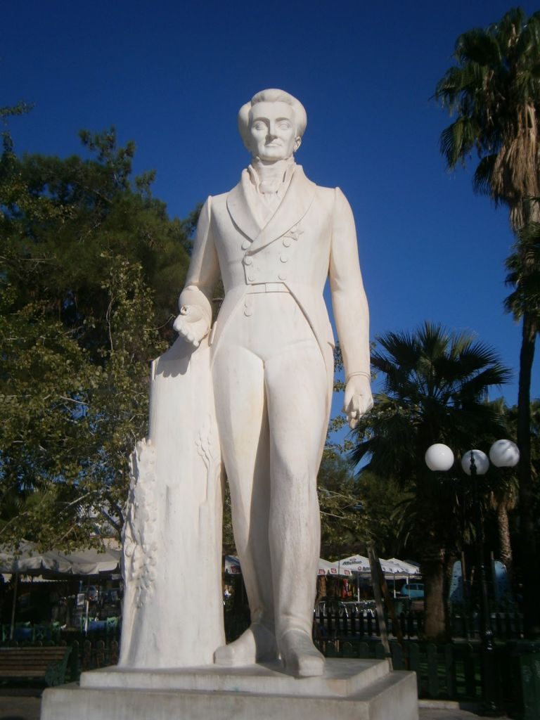 Ναύπλιο: Βανδάλισαν για πολλοστή φορά το άγαλμα του Καποδίστρια | tovima.gr