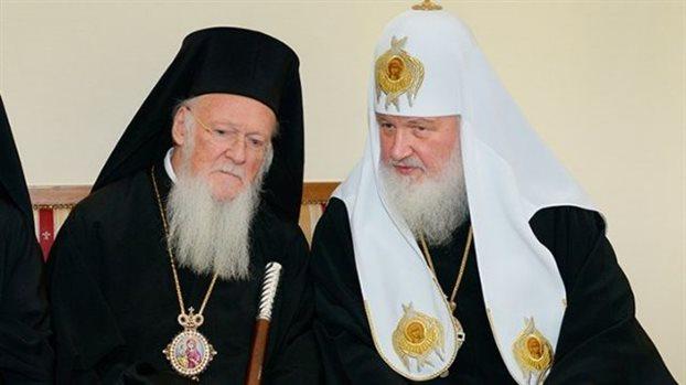 Ecumenical Patriarch, Moscow Patriarch to discuss Orthodoc Church of Ukraine   tovima.gr
