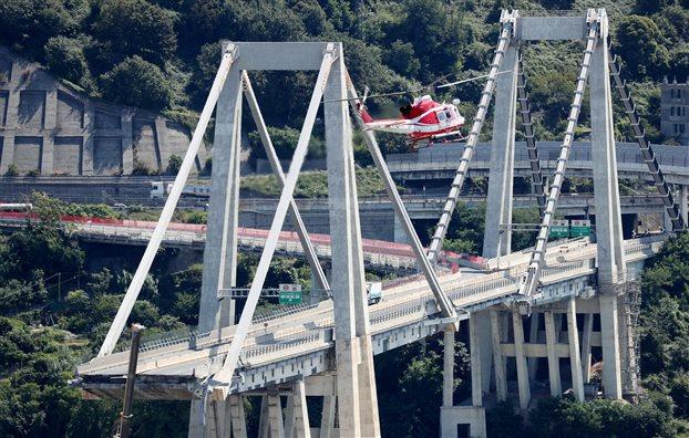 Γένοβα-Κατάρρευση γέφυρας: Εισαγγελική έρευνα εναντίον 20 ατόμων | tovima.gr