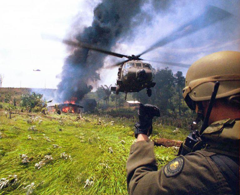 Βοήθεια από την Ε.Ε. ζητά η Κολομβία στον πόλεμο κατά των ναρκωτικών | tovima.gr