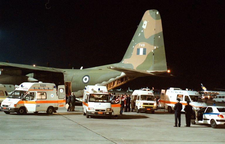 Αερομεταφορά με C-130 βρέφους και 62χρονου από Ρόδο και Κω | tovima.gr