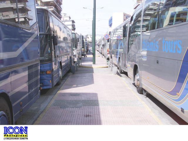 Κρίθηκε παράνομη η απεργία στα τουριστικά λεωφορεία | tovima.gr