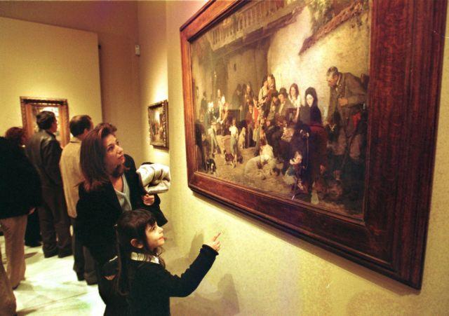 Ξενάγηση στις  μόνιμες  συλλογές της Εθνικής Πινακοθήκης | tovima.gr